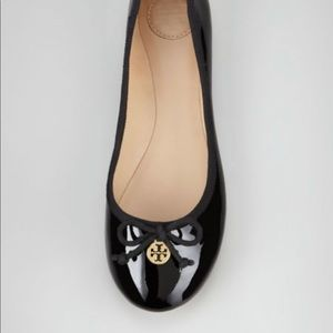 Tory Burch Chelsea Flats- patent leather